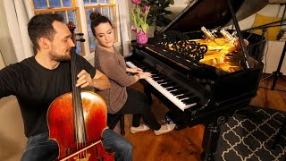 LANDSLIDE (Cello + Piano Cover) - Brooklyn Duo