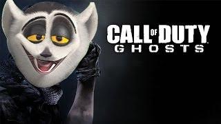 Król Julian gra w Call Of Duty Ghosts!