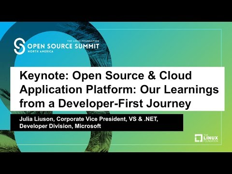 Keynote: Open Source & Cloud Application Platform: Our Learnings from a Developer-First Journey