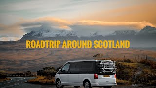 ROADTRIPPING SCOTLAND VLOG #VANLIFE