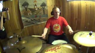 Medeia - Cold Embrace Drum cover