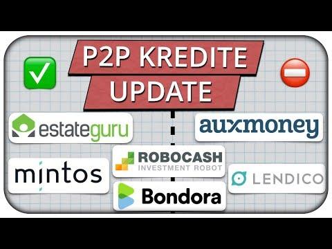p2p Kredite Update Ende 2018 - Meine Erfahrungen Mintos, Bondora, Estateguru & Co