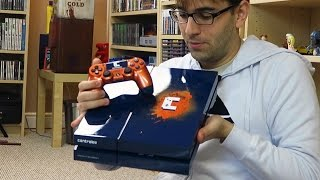 UNBOXING PLAYSTATION 4 CUSTOMIZADO - PS4 DO CONTROLE DOIS!