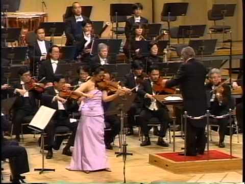 Joan Kwuon-Brahms Violin Concerto in D Major-Heinz Wallberg/NHK Symphony Orchestra