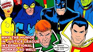 Justice League International was More than Just Humor