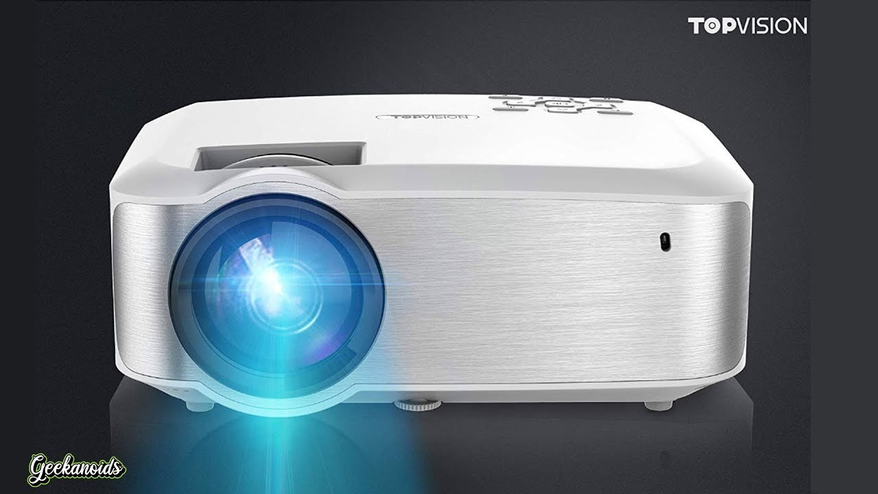 Topvision Video Projector 2019 Edition Review Youtube
