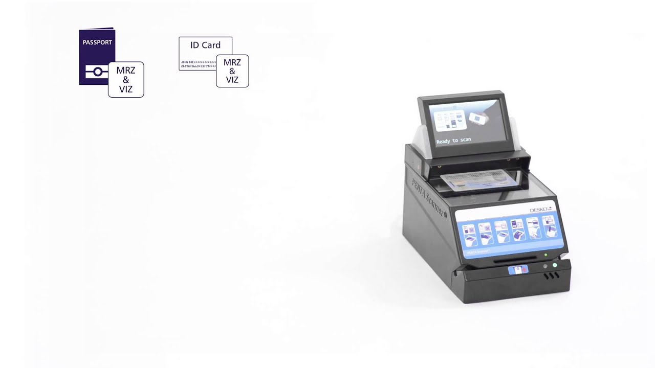 Multifunctional full-page ID document scanner for image and