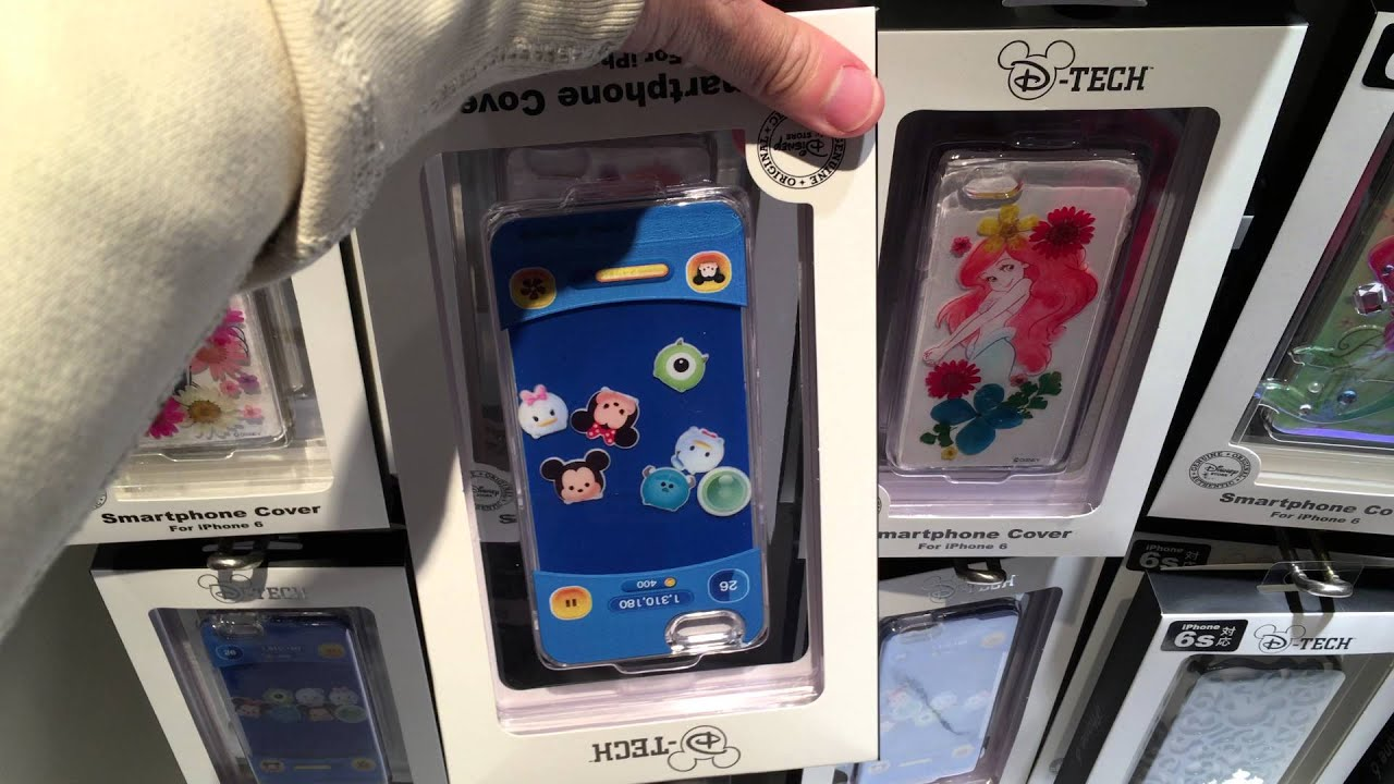 reputable site 17d82 459d2 Tsum Tsum iPhone 6 Case from Japan Disney Store