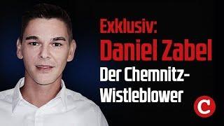 Exklusiv: Chemnitz-Whistleblower Daniel Zabel im Interview