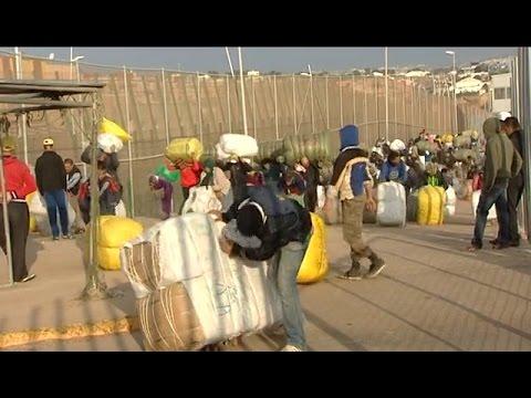La vida en la frontera: De Marruecos a España