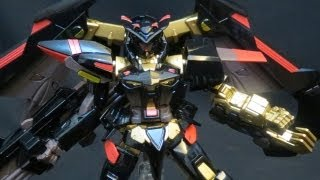 HG Gold Frame Amatsu Mina (3: MS+V) Gundam Seed Astray X plastic model review ガンプラ