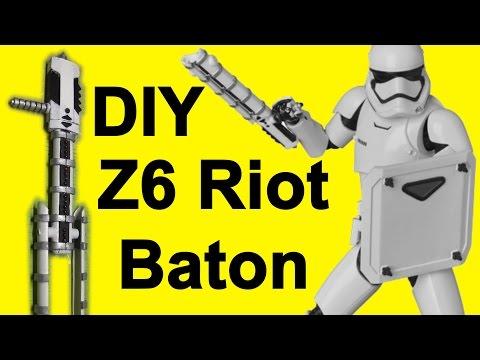 How to Make TR8R's Riot Baton (Z6 DIY)