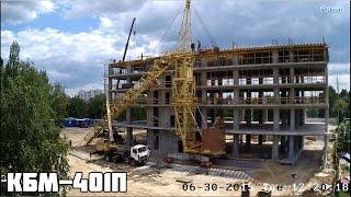 видео Монтаж башенного крана