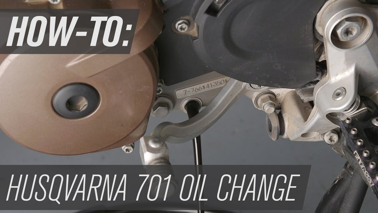 How To Change The Oil On A Husqvarna 701 Enduro