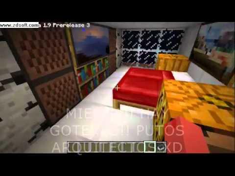 Minecraft la mejor casa de playa de todas modo creativo - Casas de lujo por dentro y por fuera ...