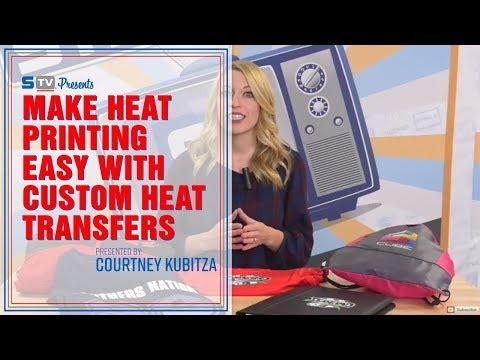 Make Heat Printing Easy with Custom Heat Transfers