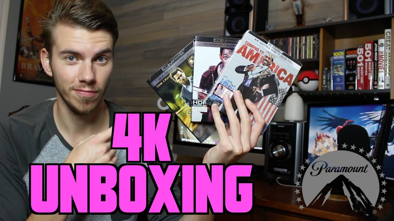 4K Paramount Unboxing & Review (Beverly Hills Cop, Collateral & Coming To America)