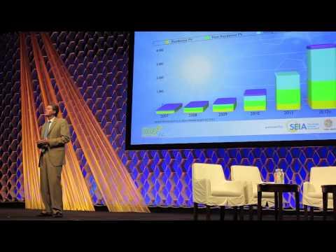 Solar Power International SPI2012: Julia Hamm  & Rhone Resch