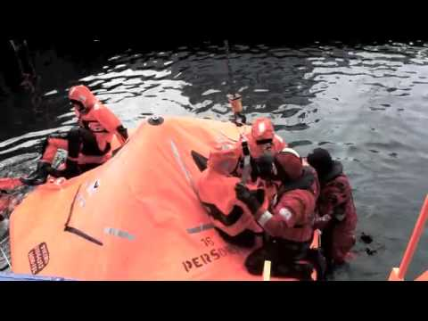 Ambassador Arreaga´s visit to Iceland's Maritime Safety and Survival Training Center