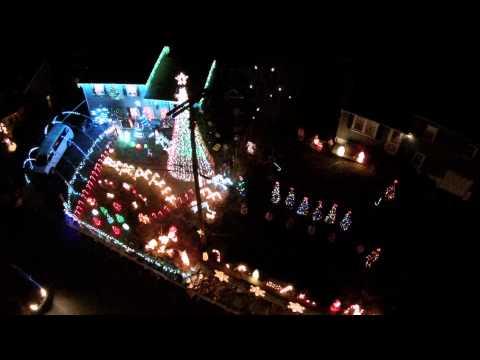 Denville Holiday Lights via Drone - Denville NJ 07834 - GlideByJJ