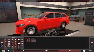 Building A Ford Fusion Rival In Automation (the car company tycoon game)