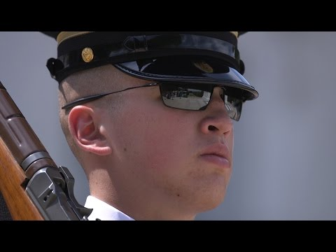 Old Guard soldiers reflect on their mission at Arlington National Cemetery