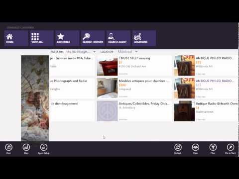 Windows 8.1 Craigslist classified ads app review