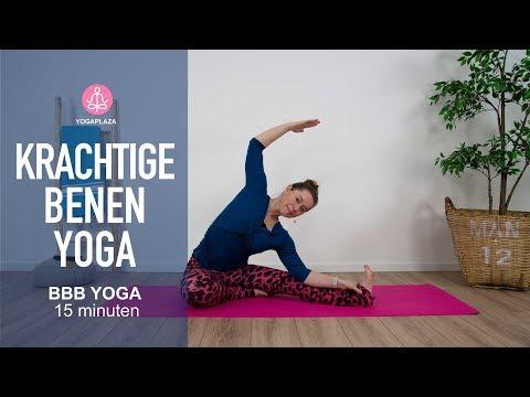 Krachtige Benen Yoga