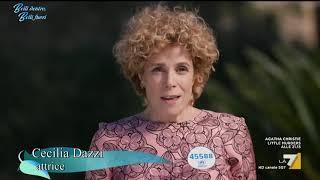 L'attrice e vincitrice di un david donatello ci parla del suo rapporto con la salute, come donna professionista madre due gemelli cinque anni!