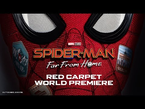 spider-man:-far-from-home-red-carpet-|-full-stream