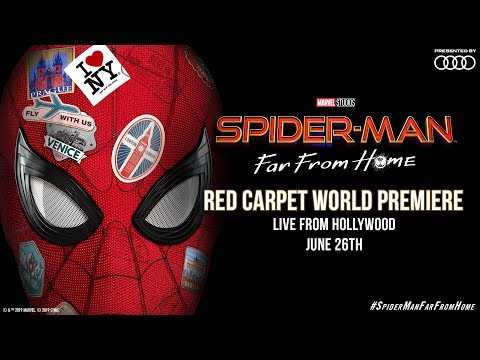 Spider-Man: Far From Home | LIVE Red Carpet World Premiere