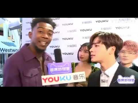 Jackson GOT7 X Desiigner Interview @AMA's
