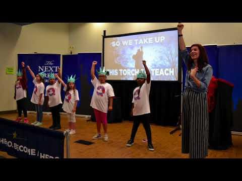 Leeds Primary School Super Citizen Celebration