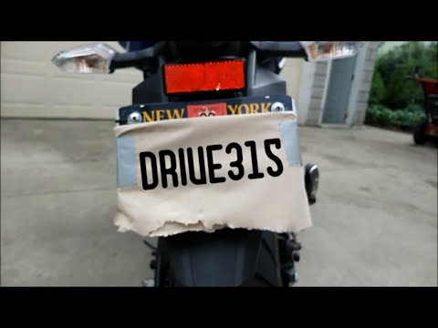 How To Avoid Losing Your Motorcycle License Plate !!! (HACK)