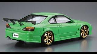 Сборная модель Aoshima Rodextyle S15 Silvia 1999 Nissan The Tuned Car No.42