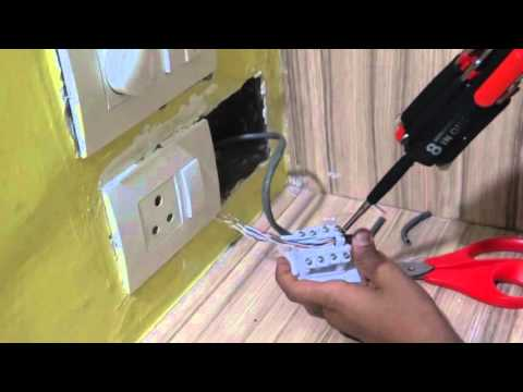 DIY: Connecting RJ45 Wall Socket in India(ROMA Company)