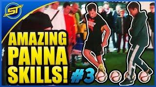 SkillTwins AMAZING Panna/Nutmeg Football Skills! ★