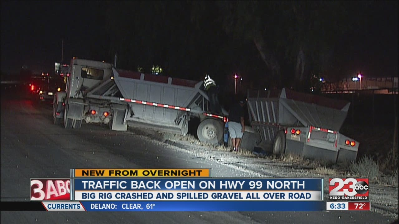 Northbound 99 open after accident