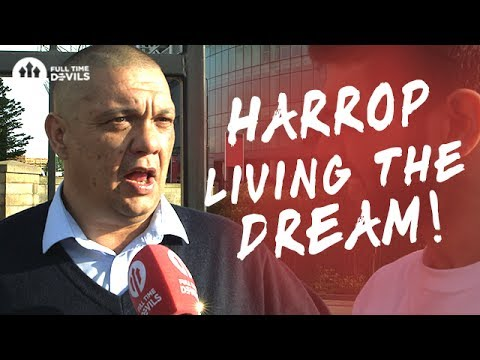 Josh Harrop: Living The Dream! | Manchester United 2-0 Crystal Palace | FANCAM