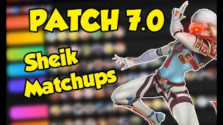 VoiD's 7.0 Sheik Match Ups | Is She Solo Viable? | Smash Ultimate