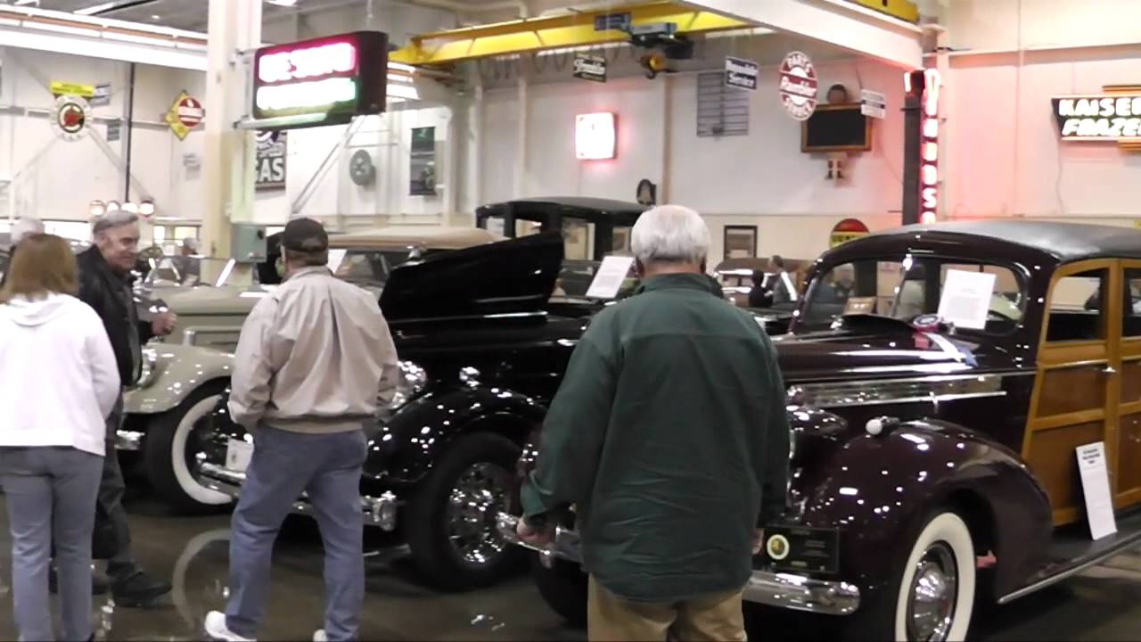 The Vintage Motors USA Car Club Visits Stahls Automotive Museum - Classic car museums in usa