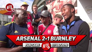 Arsenal 2-1 Burnley  | Aubameyang Can Win The Golden Boot Again! (Curtis & Broadz - AFTV FC)