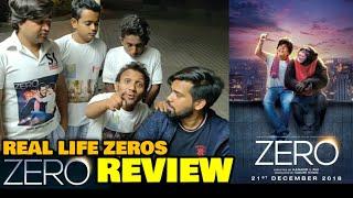 Zero Movie REVIEW By Real Life Zeros | Shahrukh Khan, Katrina Kaif, Anushka Sharma | Admin