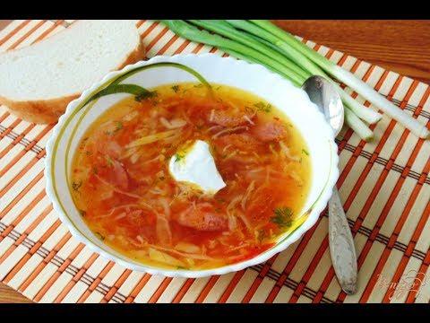 солянка с капустой суп рецепт с фото