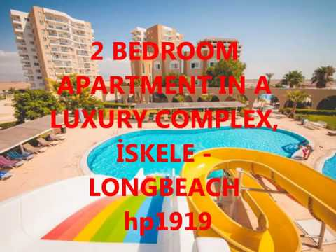 hp1919 2 BEDROOM APARTMENT IN A LUXURY COMPLEX, İSKELE   LONGBEACH