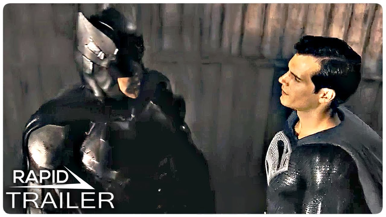 JUSTICE LEAGUE The Snyder Cut: Batman and Superman Trailer (2021) Zack Snyder, Superhero Movie HD