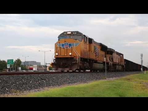 4 Trains in 30 minutes - Sugar Land TX 8/2/2017
