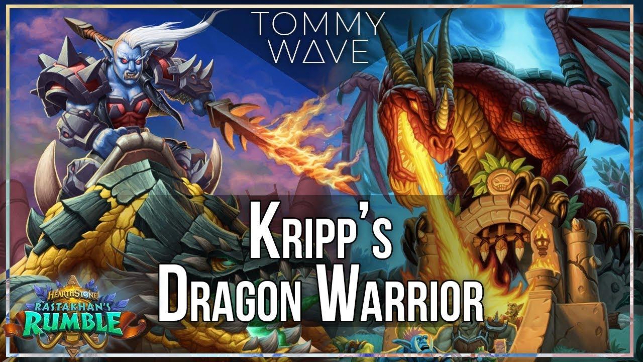 Kripp Dragon Warrior - Hearthstone Decks