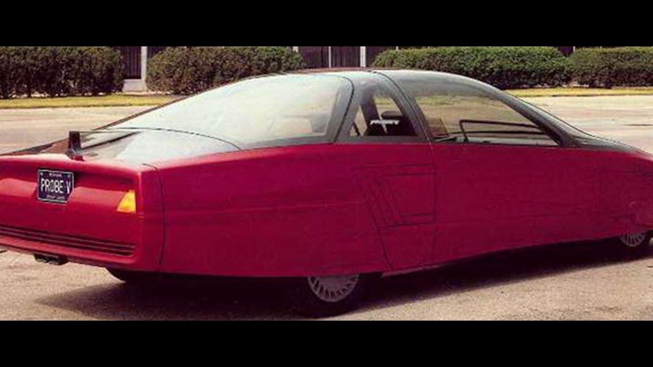 Ford Probe 5 Ghia 1985 Prototype Car CONCEPT CAR