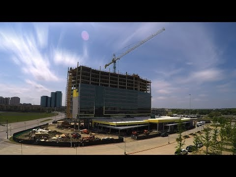 """Westin Irving Convention Center """"Topping Out"""" Celebration"""